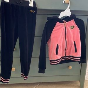 New juicy couture track suit 4T